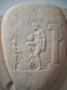 Ancient Greek Football Player