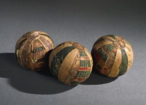 Hollow toy ball made of linen - Egypt