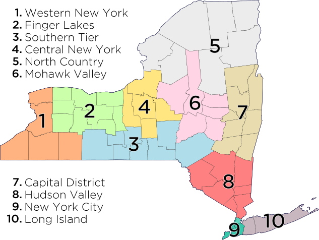 The Cities of New York State