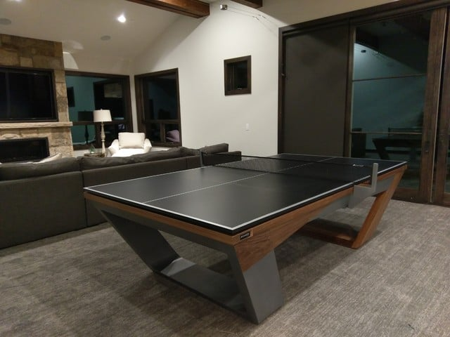 Room Size for Table Tennis-HeightLight4-PlayerOnSite