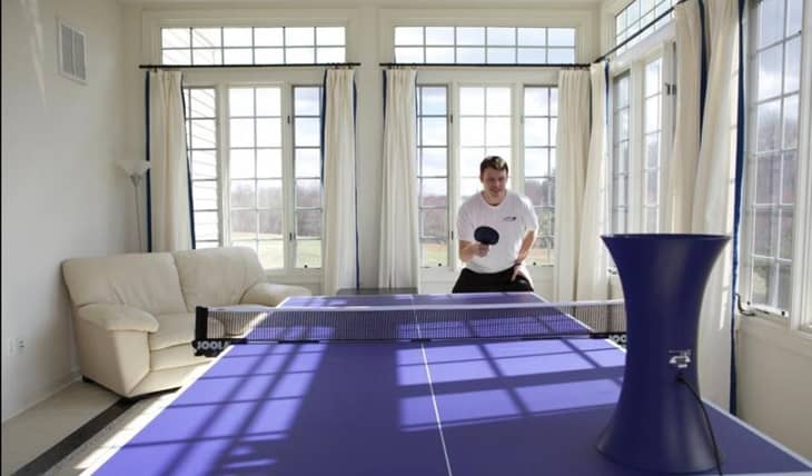 Room Size for Table Tennis-Robot-PlayerOnSite
