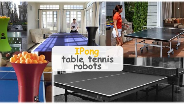 IPong Table Tennis Robot Review