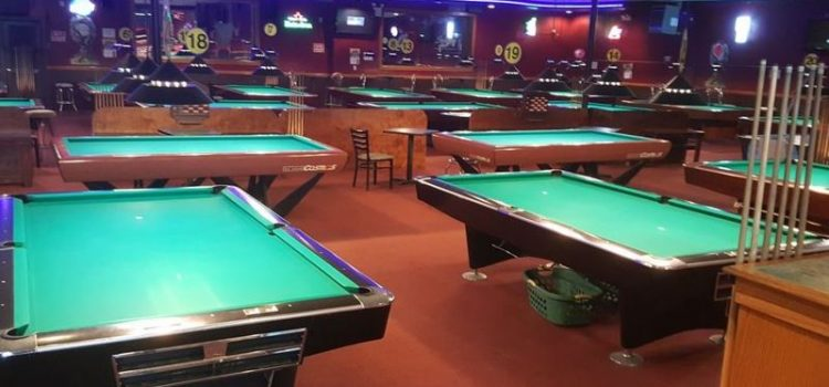 Spin City Cafe Billiards