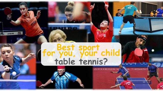 Which sport is best for you and your child? – Table Tennis?