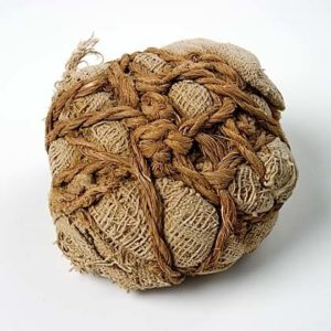 Linen Ball from Grave 518 at Tarkhan - Egypt